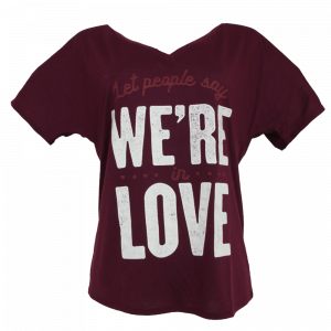 We're in Love V-neck